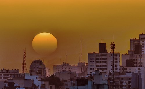 city sunset sun sol buildings edificios buenosaires ciudad argetina antennas antenas oxaso