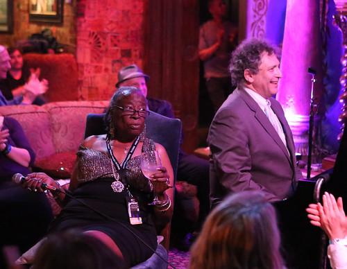 Carol Fran with David Torkanowsky in Club 88. Photo by Bill Sasser.