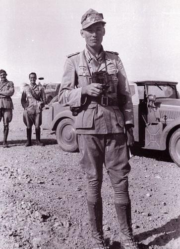 Hellmut Von leipzig en el Norte de Africa