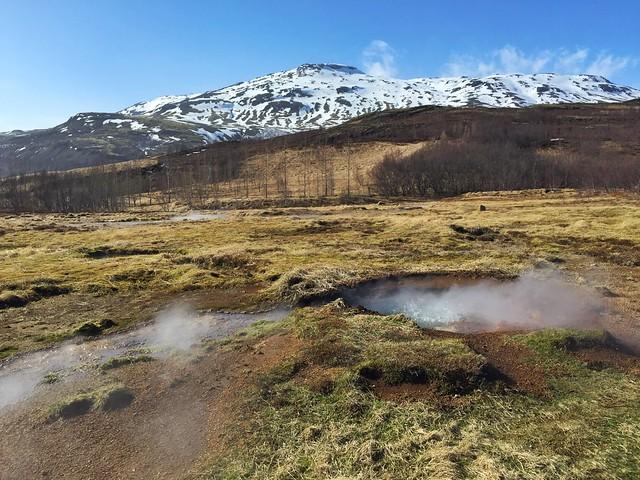 Paisaje de Islandia (Geysir)
