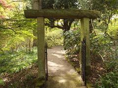 Water Garden - Hodnet Hall Gardens - gate