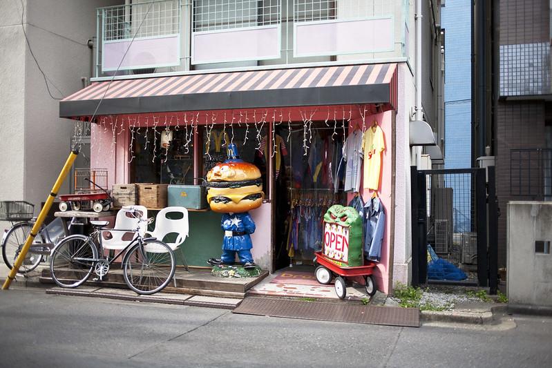 Vintage shop in Koenji, Tokyo, Japan_IMG_5226