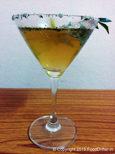 Curry Leaves Mocktail 1