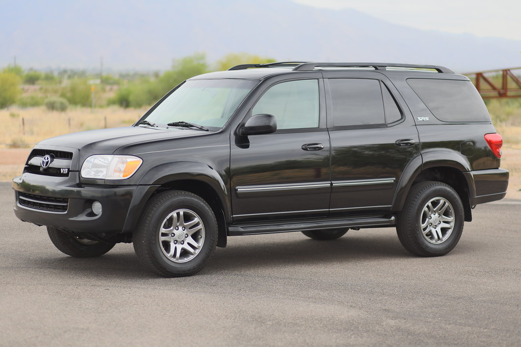 2007 toyota sequoia leather 4x4 suv for sale. Black Bedroom Furniture Sets. Home Design Ideas