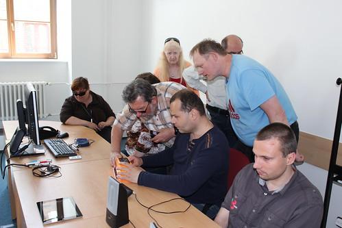 Workshopy ve Středisku Teiresiás při Tmavomodrém festivalu 2015