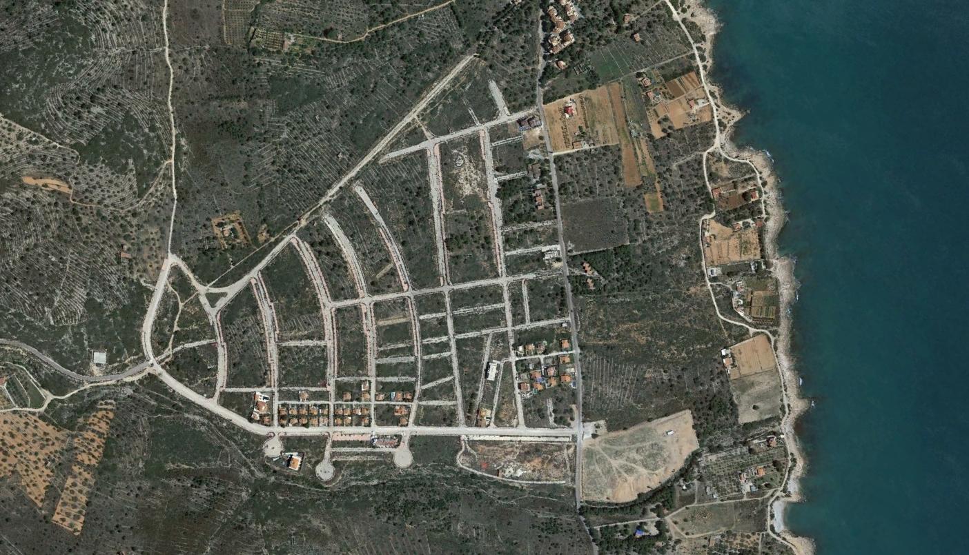 urbanització cap blanc, castellón, cráneo blanco, después, urbanismo, planeamiento, urbano, desastre, urbanístico, construcción, rotondas, carretera
