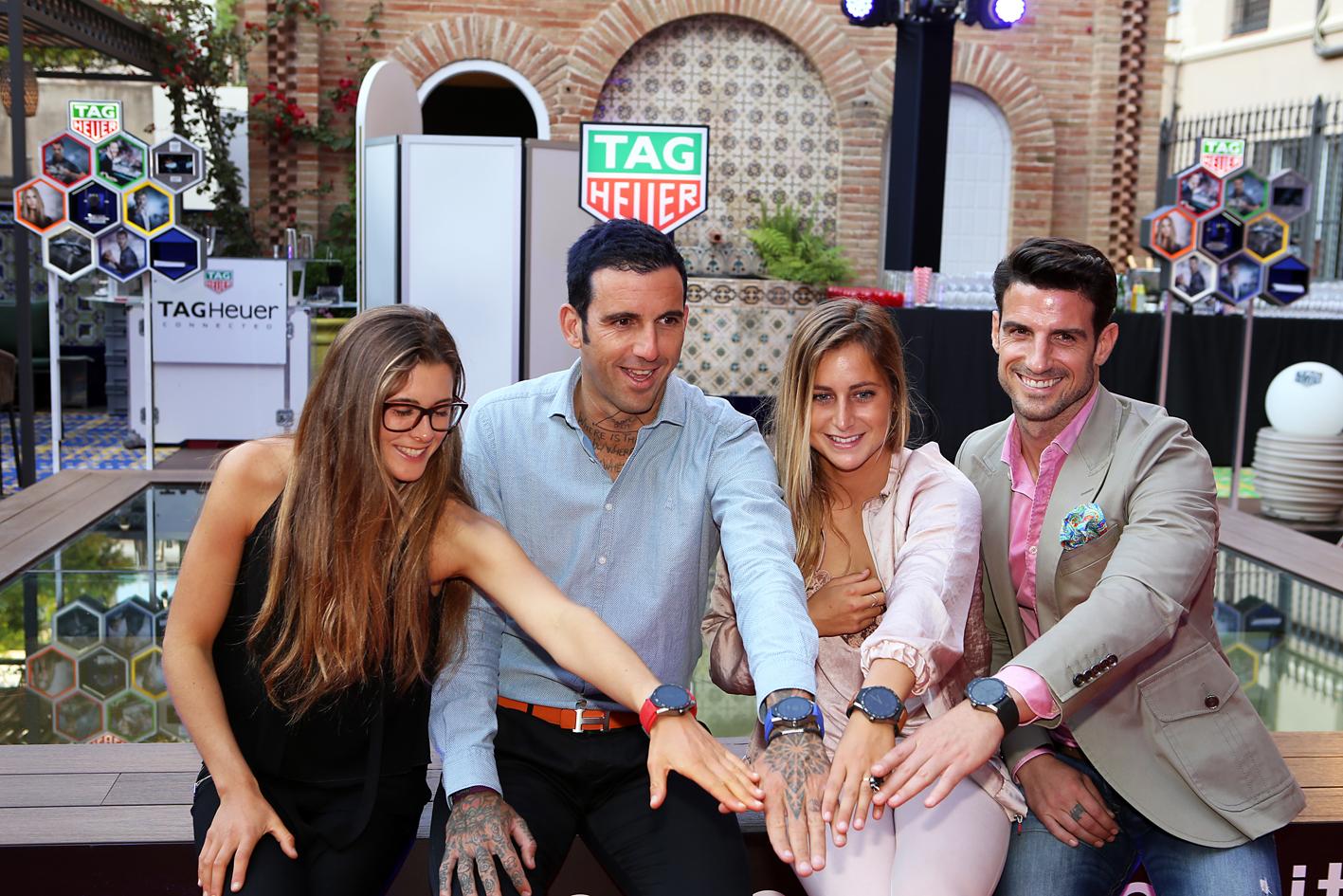 Gisela Pulido, Josef Ajram, Luc+¡a Marti+¦o y Aitor Ocio