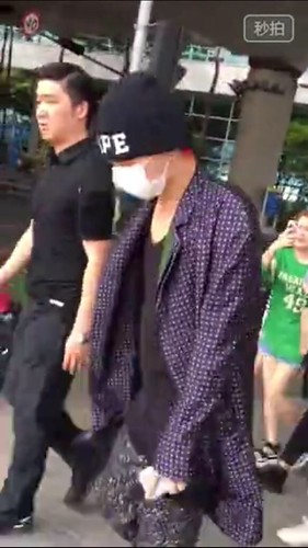 G-Dragon Arrival Seoul from Paris 2015-07-09 011