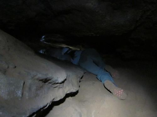 Crawling in Narrow Passageways in Torotoro