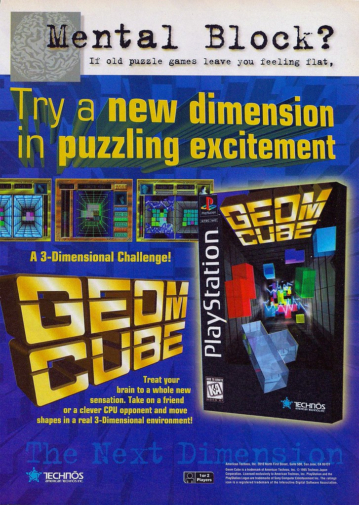 video game ads - Magazine cover