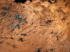 Copper sheet (Mesoproterozoic, 1.05-1.06 Ga; White Pine Mine, Ontonagon County, Upper Peninsula of Michigan, USA) 4