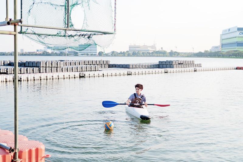 typicalben canoe polo Pandan Reservoir