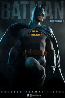Sideshow Collectibles【摩登時代蝙蝠俠】Batman 1/4 比例 全身雕像