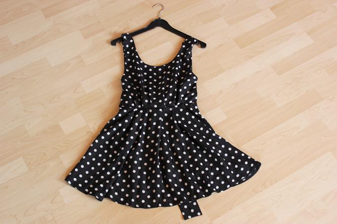 polka dot summer dress
