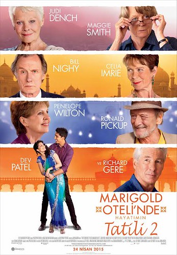 Marigold Oteli'nde Hayatımın Tatili 2 - The Second Best Exotic Marigold Hotel (2015)