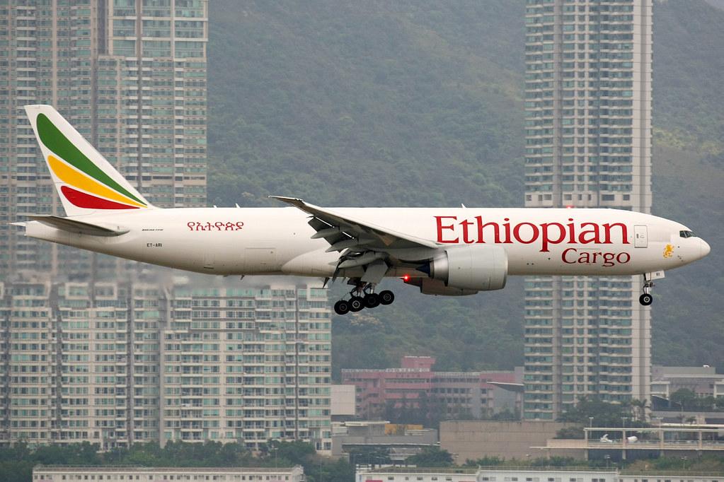 ET-ARI - B77L - Ethiopian Airlines