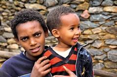 Farm Boys, Tigray, Ethiopia