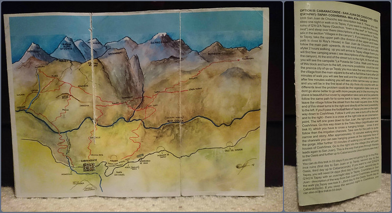 Colca Canyon Map