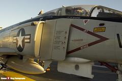 153030 NF-102 - 1557 - US Navy - McDonnell QF-4N Phantom II - USS Midway Museum San Diego, California - 141223 - Steven Gray - IMG_6801