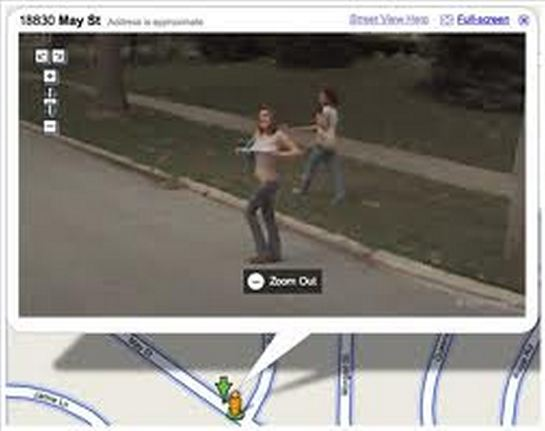 And google street maps bikini can