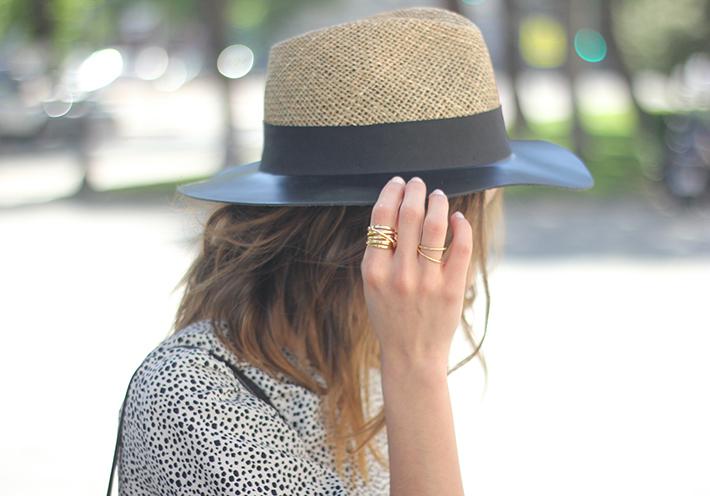 Black and White Jumper Zara Hat Uterqüe 20