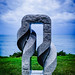 116/365 Twisted #sculpture #ocean #view #art #sea #coogeetobondi #clouds #sky #dramatic #photoaday by Paul D Wade