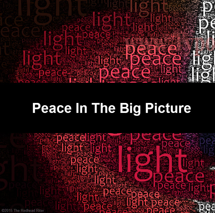 word candle burning Peace In The Big Picture tw