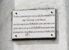 Photo of Marble plaque number 11097