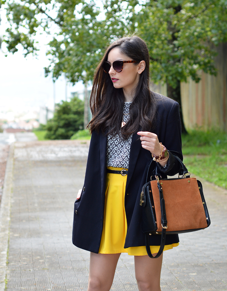 Zara_ootd_outfit_yellow_animal_print_blazer_03