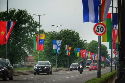 #Expo bandiere del #mondo a #Milano by Ylbert Durishti
