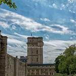 The donjon of the Chateau de Vincennes, Paris, France