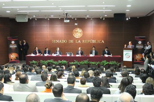 El día miércoles 6 de julio se realizó el Seminario internacional: Técnica legislativa y seguridad parlamentaria, en el Senado de la República.