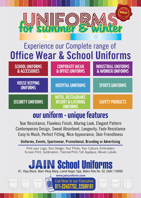 Jain School Uniforms
