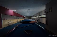 Bowl/Biljart hall.