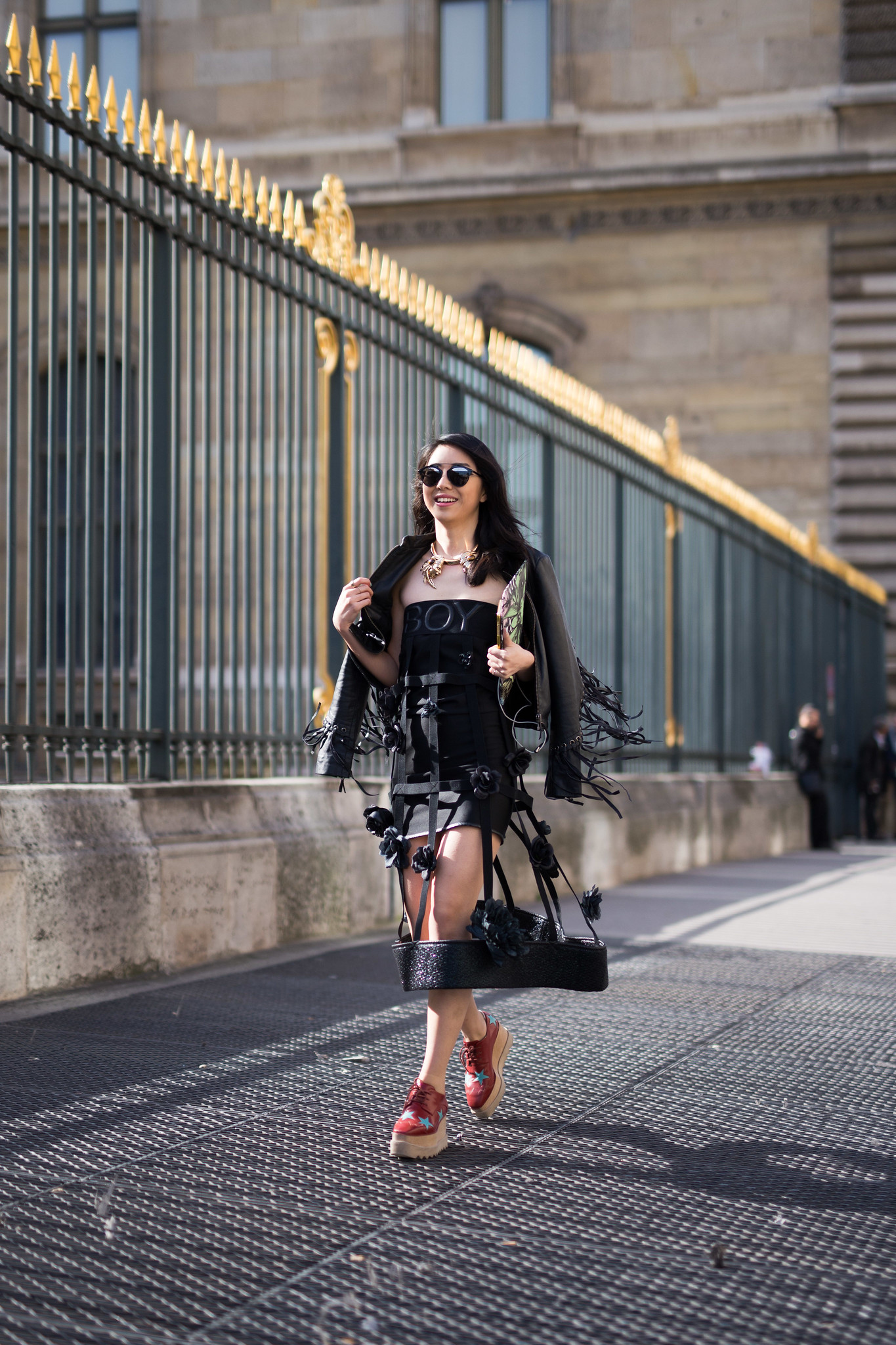 Street Style - Yuwei Zhangzou, Paris Fashion Week