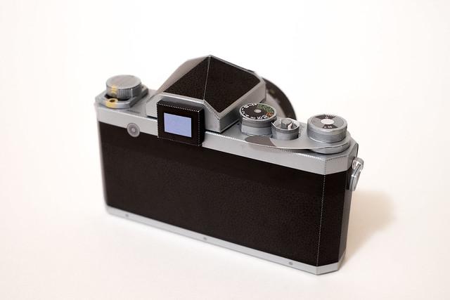 Nikon F Papercraft-5