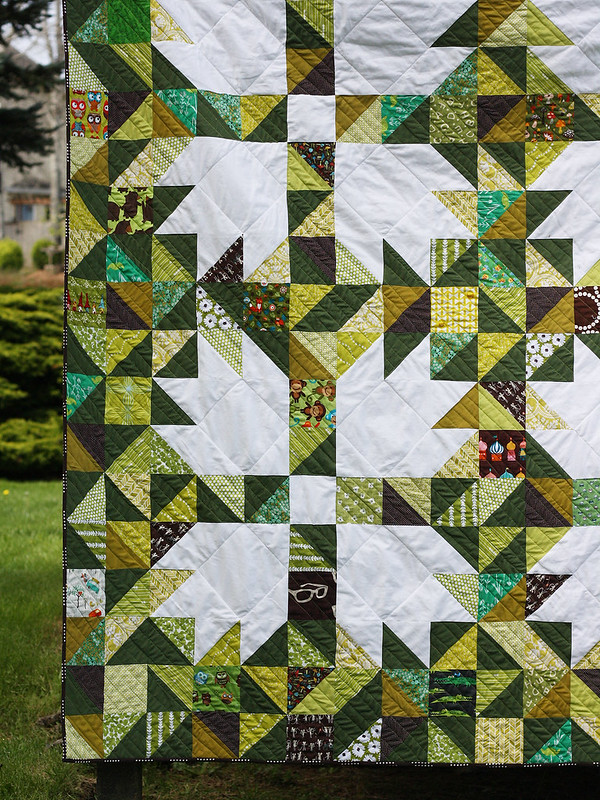 Michael Ann Made The Goldilocks Quilt A Scrappy Bear Paw Quilt