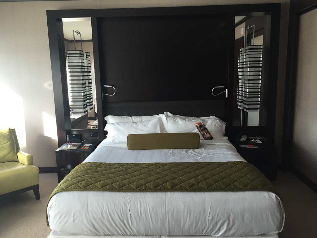 King size bed at Vdara
