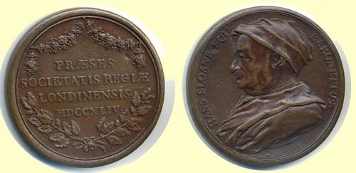 1744 Sloane medal