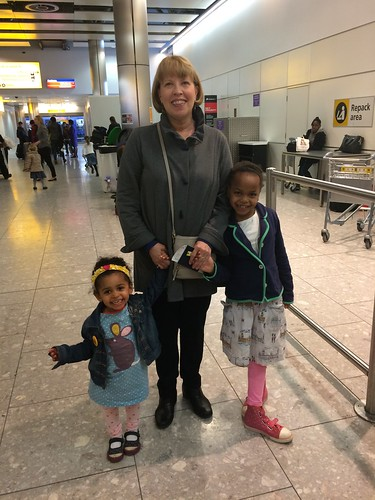 banana and her granddaughters