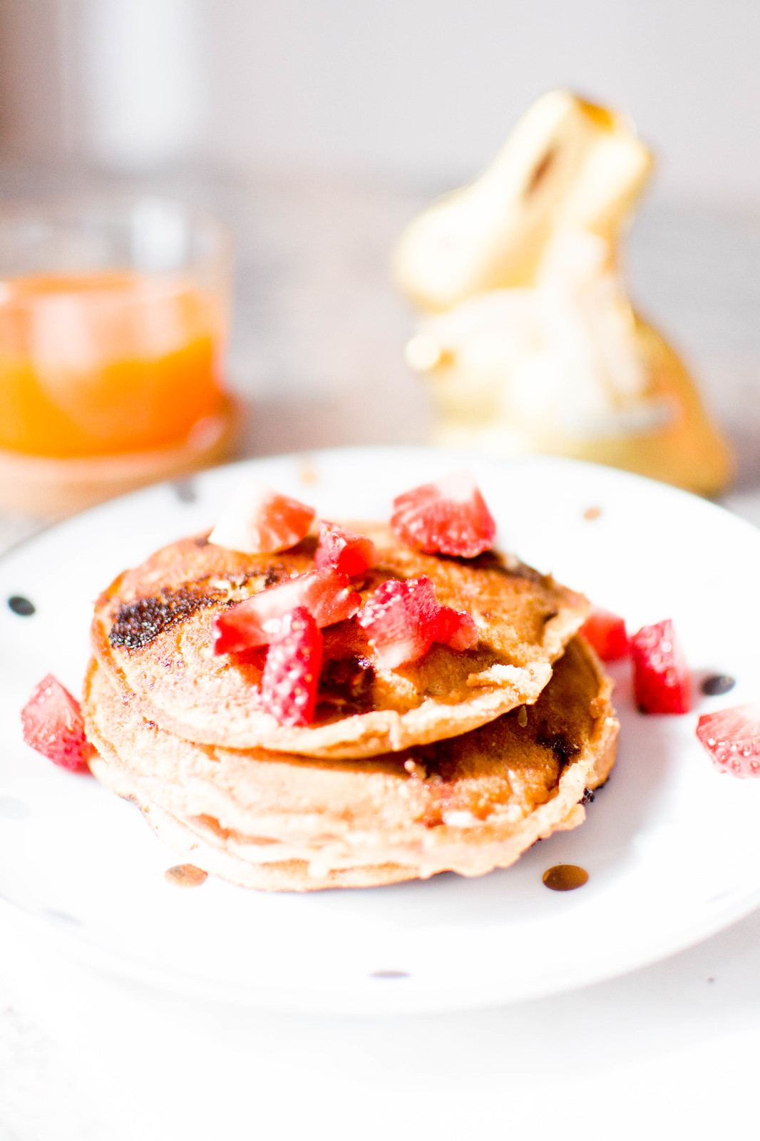 White Chocolate Morning Pancakes Recipe