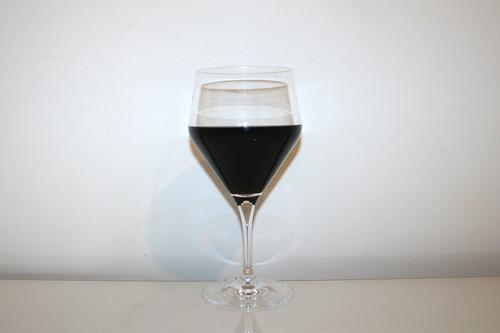 09 - Zutat trockener Rotwein / Ingredient dry red wine