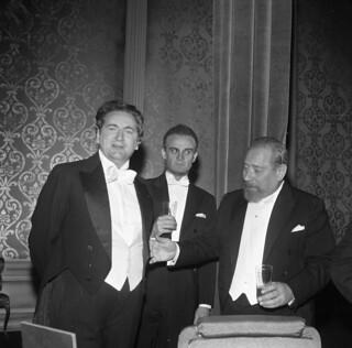 Rolf Berntzen, Pelle Christensen og Claes Gill  i teaterstykket Vildanden (1967)