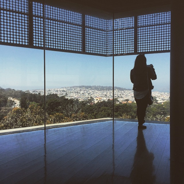 SF 360 here at the de Young Museum's Hamon Tower #deYoungmuseum #goldengatepark #hamontower #wanderentes #travelingjourno #sanfrancisco