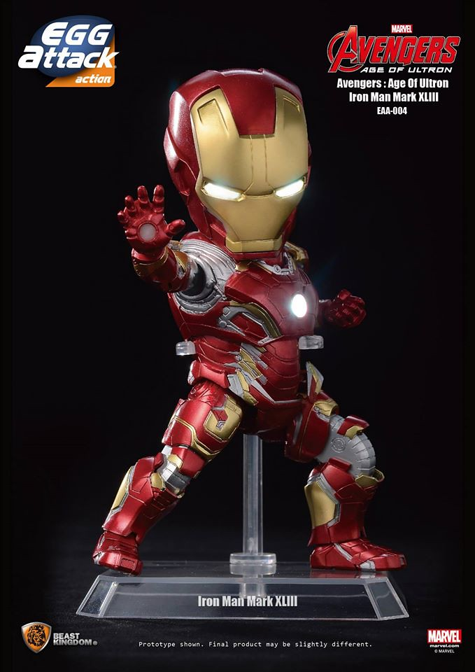 [Egg Attack] Action – Avengers: Age of Ultron Iron Man Mark 43 (EAA-004) 17142382748_99b1df63c8_b