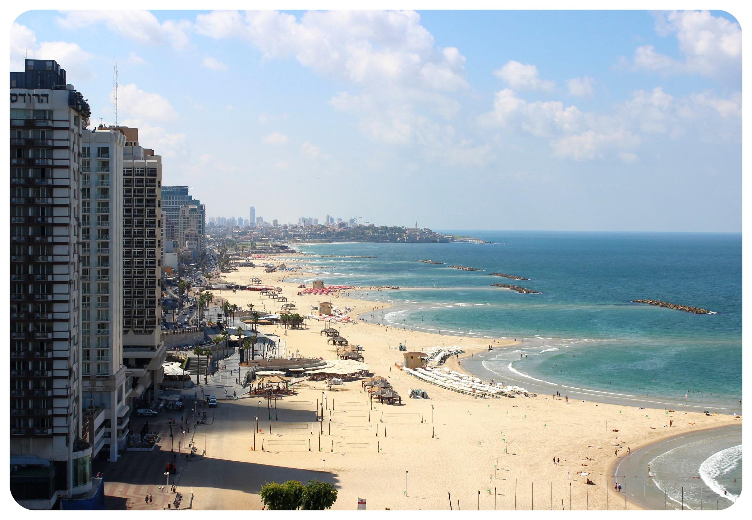 tel aviv beach view