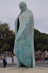 The Statue of Pope John Paul II
