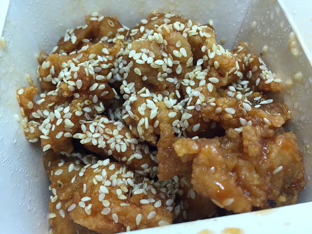 Sesame chicken - Red Jade