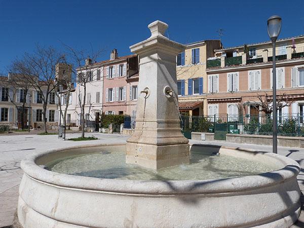 fontaine de chateau gombert