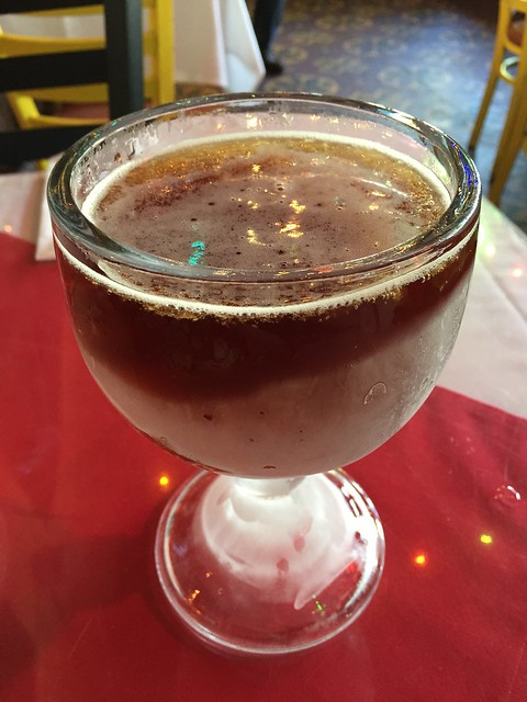 Shiner Bock beer - Mi Tierra Cafe